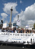 March For Science, London. International protest on Earth Day against global political questioning of facts and for protection of the environment - Stefano Cagnoni - 2010s,2017,activist,activists,against,banner,banners,CAMPAIGN,campaigner,campaigners,CAMPAIGNING,CAMPAIGNS,DEMONSTRATING,demonstration,DEMONSTRATIONS,environment,Environmental degradation,facts,FEMALE