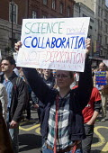 March For Science, London. International protest on Earth Day against global political questioning of facts and for protection the environment - Stefano Cagnoni - 2010s,2017,activist,activists,against,CAMPAIGN,campaigner,campaigners,CAMPAIGNING,CAMPAIGNS,DEMONSTRATING,demonstration,DEMONSTRATIONS,environment,Environmental degradation,FEMALE,March for Science,pe