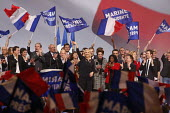 Marine Le Pen, National Front (FN) rally, candidate for the presidential election, Arenes de Metz, Franceelection campaign - Fred Marvaux - 18-03-2017