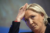 Marine Le Pen National Front (FN) candidate, presidential election. Brest, France - Herve Ronne - 30-03-2017
