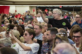 Mesa, Arizona - U.S. Senator Jeff Flake (R-Arizona) was met by nearly 2,000 angry constituents when he held a town hall meeting. Many expressed support for the Affordable Care Act (Obamacare) and oppo... - Jim West - 2010s,2017,ACA,Affordable Care Act,age,ageing population,America,anger,angry,Arizona,care,Congress,constituents,critic,criticism,critique,debate,debating,democracy,disapproval,disapproving,elderly,EMO
