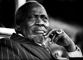 Jomo Kenyatta, First President of the Republic of Kenya, London, 1969 - Bente Fasmer - 1960s,1969,Africa,Africam,African,africans,ANU,Kenya,Kenyatta,London,Mzee Jomo Kenyatta,POL,political,POLITICIAN,POLITICIANS,Politics,President