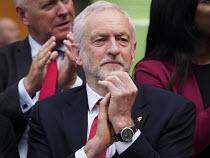 Jeremy Corbyn, Labour Party General Election 2017 manifesto launch, Bradford - Mark Pinder - 2010s,2017,campaign,campaigning,CAMPAIGNS,DEMOCRACY,election,elections,General Election,Jeremy Corbyn,Labour Party,launch,manifesto,MP,MPs,Party,POL,political,politician,politicians,Politics,universit