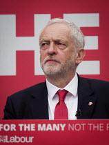 Jeremy Corbyn, Labour Party General Election 2017 manifesto launch, Bradford - Mark Pinder - 2010s,2017,campaign,campaigning,CAMPAIGNS,DEMOCRACY,election,elections,General Election,Jeremy Corbyn,Labour Party,launch,manifesto,MP,MPs,Party,POL,political,politician,politicians,Politics,SPEAKER,S