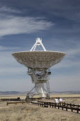 Datil, New Mexico, USA Very Large Array radio telescope astronomical radio observatory. The 27 large dish antennas on the Plains of San Agustin are part of the National Radio Astronomy Observatory, se... - Jim West - 11-04-2017