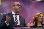 Paul Nuttall and Suzanne Evans, UKIP election manifesto launch, Westminster, London. - Philip Wolmuth - campaigning, election campaign,2010s,2017,campaign,campaigning,CAMPAIGNS,DEMOCRACY,ELECTION,elections,eurosceptic,Euroscepticism,eurosceptics,FEMALE,general election,launch,London,male,man,manifesto,m