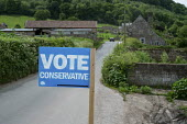 Vote Conservative sign, Herefordshire - Philip Wolmuth - 22-05-2017