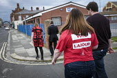 Angela Rayner MP campaigning in support of the Labour candidate Mike Hill, Hartlepool - Mark Pinder - 28-05-2017