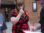 Angela Rayner MP campaigning in support of the Labour candidate Mike Hill, Hartlepool - Mark Pinder - 2010s,2017,campaign,campaigning,CAMPAIGNS,candidate,CANDIDATES,cities,City,democracy,ELECTION,elections,FEMALE,general election,grass roots,Labour Party,people,person,persons,political,POLITICIAN,POLI