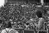 CND Festival of Life, Alexandra Park Racecourse Grandstand, London 1971 - NLA - 1970s,1971,activist,activists,against,anti war,Antiwar,band,bands,campaign,Campaign for nuclear disarmament,campaigner,campaigners,campaigning,CAMPAIGNS,cities,City,CND,concert,concerts,course,courses