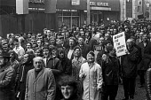 One day strike and protest against the Industrial Relations Bill 1971, Liverpool - NLA - 1970s,1971,activist,activists,against,anti union legislation,banner,banners,CAMPAIGN,campaigner,campaigners,CAMPAIGNING,CAMPAIGNS,cities,City,DEMONSTRATING,DEMONSTRATION,DEMONSTRATIONS,disputes,FEMALE