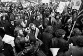 40,000 students in NUS Hands off the Students Unions protest, London, 1972. NUS pres Digby Jacks (L foreground with badge). Government proposals to restrict student union finances and autonomy were de... - NLA - 1970s,1972,activist,activists,CAMPAIGNING,CAMPAIGNS,communism,Communist Party,communists,DEMONSTRATING,Demonstration,Digby Jacks,Government,Hands,hands off the students unions,London,male,man,men,NUS,