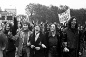 School pupils strike protest, London 1972. Pupils on strike demanding more democracy in schools and an end to corporal punishment - NLA - 1970s,1972,activist,activists,adolescence,adolescent,adolescents,boy,boys,CAMPAIGN,campaigner,campaigners,CAMPAIGNING,CAMPAIGNS,child,CHILDHOOD,children,corporal,democracy,democracy in schools,DEMONST