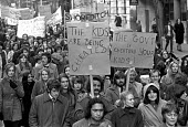 London teachers protest at a wage freeze and refusal of government to pay London weighting 1972 - NLA - 1970s,1972,activist,activists,CAMPAIGN,campaigner,campaigners,CAMPAIGNING,CAMPAIGNS,DEMONSTRATING,Demonstration,DEMONSTRATIONS,EARNINGS,EQUALITY,FEMALE,government,ILTA,Income,INCOMES,inequality,living