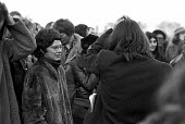 Angela Weir, now Angela Mason OBE, protest at Wormwood Scrubs Prison 1972 in support of 4 members of the Angry Brigade sentenced to 10 years in jail for Conspiring to cause explosions likely to endang... - NLA - 1970s,1972,activist,activists,Angela Mason,Angela Weir,Angry Brigade,CAMPAIGN,campaigner,campaigners,CAMPAIGNING,CAMPAIGNS,DEMONSTRATING,Demonstration,DEMONSTRATIONS,FEMALE,jail,jails,London,male,man,