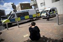 Barking raid after the terrorist attacks on London Bridge and Borough Market. Newham, East London - Jess Hurd - 04-06-2017