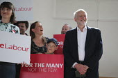 Jeremy Corbyn Labour Party general election rally, Beeston, Nottingham - John Harris - 03-06-2017