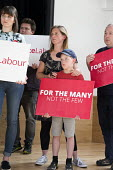 Supporters, Jeremy Corbyn Labour Party general election rally, Beeston, Nottingham - John Harris - 03-06-2017
