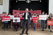 Jeremy Corbyn Labour Party general election rally, Beeston, Nottingham - John Harris - 2010s,2017,campaign,campaigning,CAMPAIGNS,DEMOCRACY,ELECTION,elections,General Election,Labour Party,Party,rallies,rally,SPEAKER,SPEAKERS,speaking,SPEECH,supporter,supporters