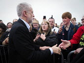 Jeremy Corbyn Labour Party general Election campaign, Blyth, Northumberland - Mark Pinder - 05-06-2017