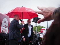Jeremy Corbyn Labour Party general Election campaign, Hemlington near Middlesbrough - Mark Pinder - 05-06-2017
