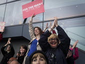 Jeremy Corbyn Labour Party general Election campaign rally, Gateshead, Tyne and Wear - Mark Pinder - 2010s,2017,campaign,campaigning,CAMPAIGNS,DEMOCRACY,ELECTION,elections,FEMALE,Gateshead,General Election,Jeremy Corbyn,Labour Party,Left,left wing,Leftwing,Party,people,person,persons,placard,placards