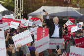 Jeremy Corbyn speaking to Labour Party general election campaign rally Birmingham - John Harris - 06-06-2017