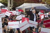 Jeremy Corbyn speaking to Labour Party general election campaign rally Birmingham - John Harris - 2010s,2017,Birmingham,campaign,campaigning,CAMPAIGNS,DEMOCRACY,ELECTION,elections,General Election,Labour Party,Left,left wing,Leftwing,MP,MPs,Party,POL,political,politician,politicians,Politics,ralli