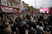Jeremy Corbyn Labour Party rally on the last day of campaigning before the General Election, Harrow, London - Jess Hurd - 2010s,2017,campaign,campaigning,CAMPAIGNS,cities,City,DEMOCRACY,ELECTION,elections,General Election,Harrow,Jeremy Corbyn,Labour Party,Left,left wing,Leftwing,London,male,man,men,Party,people,person,pe