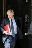 Boris Johnson leaving a cabinet meeting, 10 Downing Street, London - Jess Hurd - 2010s,2017,Boris Johnson,cabinet,CONSERVATIVE,Conservative Party,conservatives,Downing St,Downing Street,leaving,London,male,man,meeting,MEETINGS,men,MP,MPs,people,person,persons,POL,political,politic