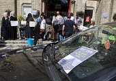 Grenfell Tower Fire. Local residents bring donations to Notting Hill Methodist Church one of the Relief Centres set up just a few hundred metres from Grenfell Tower to help victims of the disaster man... - Stefano Cagnoni - 14-06-2017