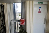 Dry Riser Valve to be used by firefighters to fight fires from within a tower block on the Eighteenth floor of Blashford Tower next to the Fire Exit. Blashford Tower is one of the five towers at the C... - Stefano Cagnoni - 15-06-2017