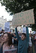 Grenfell Tower Fire. Justice For Grenfell march to Downing Street in protest at the injustice of lives lost in the tragedy, London - Stefano Cagnoni - 16-06-2017