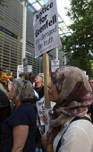 Grenfell Tower Fire. Justice For Grenfell rally outside the Department for Communities and Local Government, Westminster in protest at the injustice of lives lost in the tragedy, London - Stefano Cagnoni - 2010s,2017,activist,activists,against,BAME,BAMEs,Black,blocks,BME,bmes,CAMPAIGN,campaigner,campaigners,CAMPAIGNING,CAMPAIGNS,cities,City,Council Housing,Council Housing,DCLG,death,deaths,DEMONSTRATING