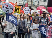 Not One Day More protest demanding the Tory Government go and an end to austerity policies - Stefano Cagnoni - 2010s,2017,activist,activists,against,anti,austerity,Austerity Cuts,BAME,BAMEs,black,Black and White,BME,bmes,CAMPAIGNING,CAMPAIGNS,child,CHILDHOOD,CHILDREN,cities,City,demonstrate demonstrating,DEMON