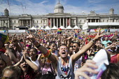 Pride in London, Love Happens Here, Trafalgar Square, London. - Jess Hurd - 08-07-2017