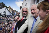 Jeremy Corbyn, Tosh McDonald ASLEF, Angela Rayner MP, Durham Miners Gala, Durham 2017 - Mark Pinder - 2010s,2017,ACE,ASLEF,County Durham,Culture,Durham Miners Gala,Jeremy Corbyn,Labour Party,member,member members,members,MINER,Miners,MINER'S,people,POL,political,POLITICIAN,POLITICIANS,Politics,Tosh Mc