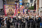 Durham Miners Gala, Durham 2017 - Mark Pinder - 2010s,2017,ACE,bands,banner,banners,Brass Band,County Durham,Culture,Durham Miners Gala,melody,member,member members,members,MINER,Miners,MINER'S,music,MUSICAL,musician,musicians,NUM,player,players,Tr