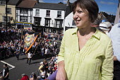Frances OGrady, TUC, Durham Miners Gala, Durham 2017 - Mark Pinder - 2010s,2017,ACE,banner,banners,County Durham,Culture,Durham Miners Gala,FEMALE,Frances O'Grady,gen sec,member,member members,members,MINER,Miners,MINER'S,NUM,people,person,persons,Trade Union,Trade Uni