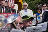 Jeremy Corbyn, Durham Miners Gala, Durham 2017 - Mark Pinder - 2010s,2017,ACE,bands,Brass Band,County Durham,Culture,Durham Miners Gala,Jeremy Corbyn,Labour Party,melody,member,member members,members,MINER,Miners,MINER'S,music,MUSICAL,musician,musicians,player,pl