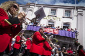 Durham Miners Gala, Durham 2017 - Mark Pinder - 2010s,2017,ACE,bands,banner,banners,Brass Band,County Durham,Culture,Durham Miners Gala,FEMALE,melody,member,member members,members,MINER,Miners,MINER'S,music,MUSICAL,musician,musicians,NUM,people,per