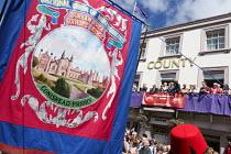 Jeremy Corbyn, Durham Miners Gala, Durham 2017 - Mark Pinder - 08-07-2017