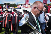 The 2017 Durham Miners Gala, Durham City, UK, 8/7 2017. - Mark Pinder - 2010s,2017,ACE,bands,Brass Band,County Durham,Culture,Durham Miners Gala,melody,member,member members,members,MINER,Miners,MINER'S,music,MUSICAL,musician,musicians,player,players,Trade Union,Trade Uni