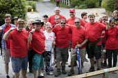 POA Trade Union Freedom Hike, Tolpuddle Martyrs Festival, Dorset - Jess Hurd - 16-07-2017