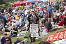 Tolpuddle Martyrs Festival, Dorset. - Jess Hurd - 16-07-2017