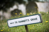 To the grave of John Hammett, Tolpuddle Martyrs Festival, Dorset. - Jess Hurd - 2010s,2017,ACE,cemeteries,cemetery,communicating,communication,Dorset,Festival,festivals,grave,graves,Graveyard,Graveyards,James Hammett,member,member members,members,PEOPLE,sign,signs,SWTUC,Tolpuddle