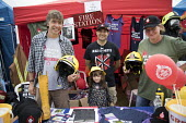 FBU stall, Tolpuddle Martyrs Festival, Dorset. - Jess Hurd - 2010s,2017,ACE,Dorset,FBU,FEMALE,Festival,festivals,male,man,member,member members,members,men,PEOPLE,person,persons,Sam Rye,SWTUC,T shirt,t shirts,Tolpuddle Martyrs Festival,Tolpuddle Martyrs' Festiv