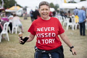 Never Kissed a Tory, Tolpuddle Martyrs Festival, Dorset. - Jess Hurd - 2010s,2017,ACE,Dorset,FEMALE,Festival,festivals,Labour Party,member,member members,members,PEOPLE,person,persons,supporter,supporters,SWTUC,T shirt,t shirts,Tolpuddle Martyrs Festival,Tolpuddle Martyr