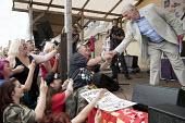 Jeremy Corbyn shaking hands with supporters, Tolpuddle Martyrs Festival, Dorset - Jess Hurd - 2010s,2017,ACE,Dorset,Festival,festivals,greeting,hands,Jeremy Corbyn,Labour Party,Left,left wing,Leftwing,male,man,member,member members,members,men,MP,MPs,PEOPLE,person,persons,POL,political,politic