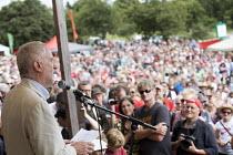 Jeremy Corbyn, Tolpuddle Martyrs Festival, Dorset. - Jess Hurd - 16-07-2017